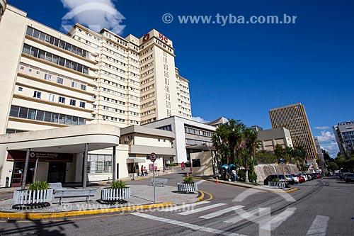 Assunto: Fachada da Hospital de Clínicas da Universidade Federal do Paraná / Local: Curitiba - Paraná (PR) - Brasil / Data: 12/2013