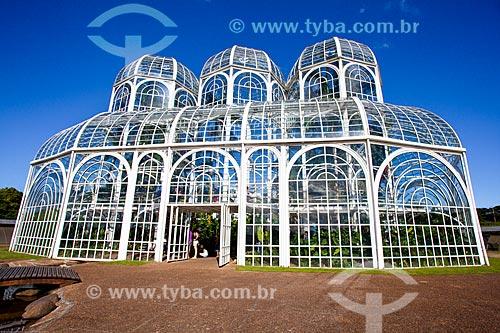 Assunto: Estufa do Jardim Botânico de Curitiba (Jardim Botânico Francisca Maria Garfunkel Rischbieter) / Local: Jardim Botânico - Curitiba - Paraná (PR) - Brasil / Data: 12/2013
