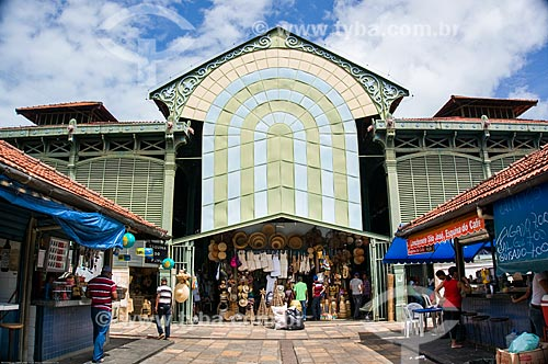 Assunto: Fachada do Mercado de São José (1875) / Local: Recife - Pernambuco (PE) - Brasil / Data: 11/2013