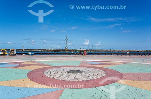 Assunto: Praça do Rio Branco - também conhecido como Marco Zero - com o Parque das Esculturas ao fundo / Local: Recife - Pernambuco (PE) - Brasil / Data: 11/2013