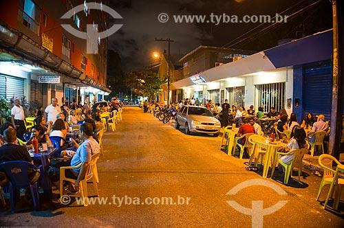 Assunto: Bares na Rua Mamede Simões / Local: Recife - Pernambuco (PE) - Brasil / Data: 11/2013