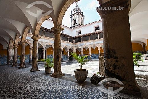 Assunto: Claustro do Convento e Igreja de Santo Antônio (1613) / Local: Santo Antônio - Recife - Pernambuco (PE) - Brasil / Data: 11/2013