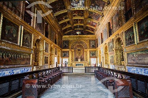 Assunto: Interior da Capela Dourada (1724) - também conhecida como Capela dos Noviços - parte do Convento da Ordem Terceira de São Francisco do Recife / Local: Santo Antônio - Recife - Pernambuco (PE) - Brasil / Data: 11/2013