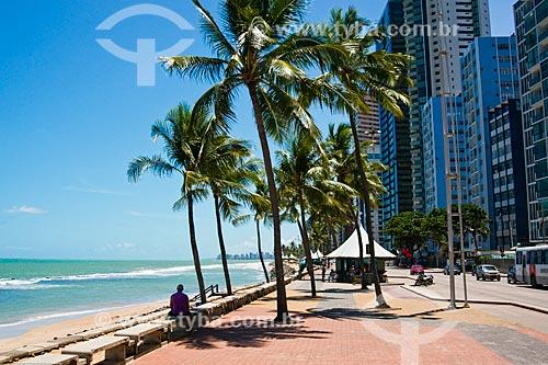 Assunto: Orla da Praia da Boa Viagem / Local: Boa Viagem - Recife - Pernambuco (PE) - Brasil / Data: 11/2013
