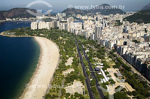 Assunto: Vista aérea do Aterro do Flamengo durante as realizações dos Jogos Pan-americanos Rio 2007 / Local: Flamengo - Rio de Janeiro (RJ) - Brasil / Data: 07/2007