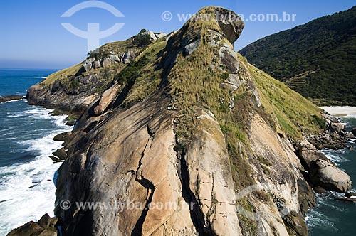 Assunto: Vista da Pedra da Tartaruga / Local: Barra de Guaratiba - Rio de Janeiro (RJ) - Brasil / Data: 06/2009