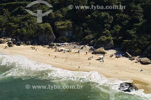 Assunto: Vista aérea das Praias de Grumari e Abricó / Local: Grumari - Rio de Janeiro (RJ) - Brasil / Data: 06/2009