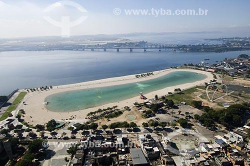 Assunto: Vista aérea do Piscinão de Ramos / Local: Ramos - Rio de Janeiro (RJ) - Brasil / Data: 06/2009