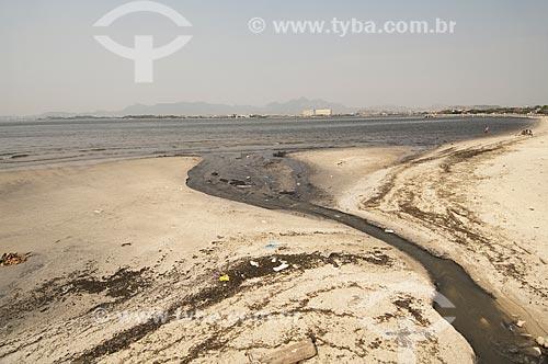 Assunto: Língua negra na Praia de São Bento / Local: Ilha do Governador - Rio de Janeiro (RJ) - Brasil / Data: 09/2010