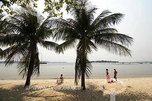 Assunto: Vista da Praia da Engenhoca / Local: Ilha do Governador - Rio de Janeiro (RJ) - Brasil / Data: 09/2010