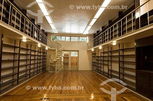 Assunto: Interior do Centro de Estudos e Pesquisas BRICS - antiga Casa de Afonso Arinos de Melo Franco / Local: Botafogo - Rio de Janeiro (RJ) - Brasil / Data: 10/2010