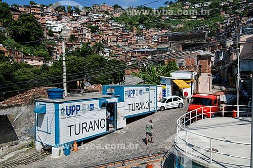Assunto: Unidade de Policia Pacificadora no Morro do Turano / Local: Rio de Janeiro (RJ) - Brasil / Data: 04/2011