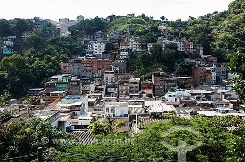 Assunto: Morro do Escondidinho / Local: Rio Comprido - Rio de Janeiro (RJ) - Brasil / Data: 05/2011