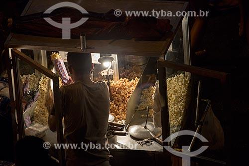 Assunto: Carrocinha de pipoca na Rua do Russel / Local: Glória - Rio de Janeiro (RJ) - Brasil / Data: 02/2014