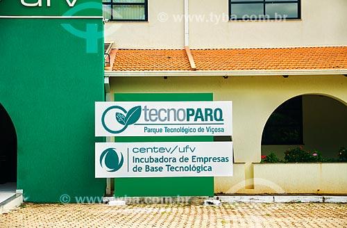 Assunto: Prédio do CENTEV (Centro Tecnológico de Desenvolvimento Regional de Viçosa) - projeto da Universidade Federal de Viçosa / Local: Viçosa - Minas Gerais (MG) - Brasil / Data: 01/2014