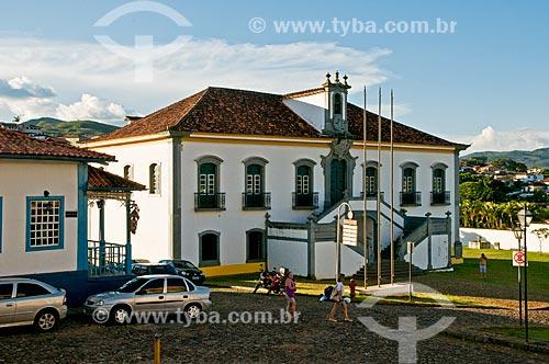 Assunto: Casa de Câmara e Cadeia (1802) - antiga cadeia de Mariana, atual Museu e Câmara dos Vereadores / Local: Mariana - Minas Gerais (MG) - Brasil / Data: 01/2014