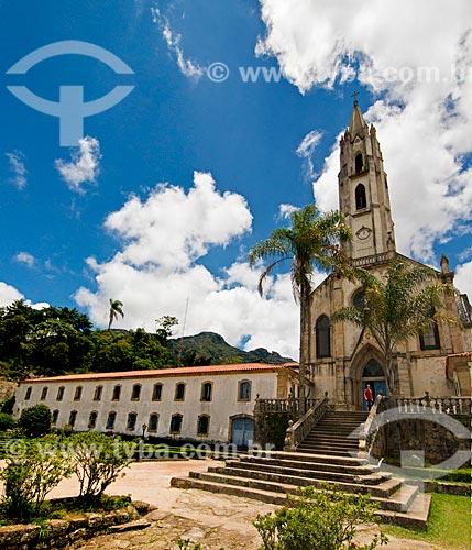 Assunto: Igreja de Nossa Senhora Mãe dos Homens no Santuário do Caraça / Local: Catas altas - Minas Gerais (MG) - Brasil / Data: 01/2014