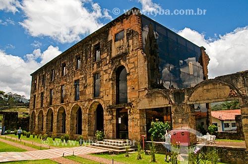 Assunto: Ruínas do antigo Colégio do Caraça no Santuário do Caraça / Local: Catas altas - Minas Gerais (MG) - Brasil / Data: 01/2014