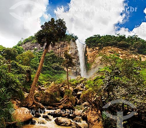 Assunto: Cascata Conde dEu - com mais de 127 metros de altura é a maior do Estado do Rio de Janeiro / Local: Sumidouro - Rio de Janeiro (RJ) - Brasil / Data: 01/2014