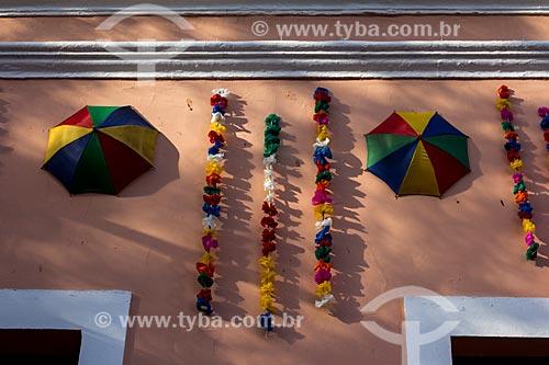 Assunto: Detalhe de fachada de casa / Local: Olinda - Pernambuco (PE) - Brasil / Data: 03/2014