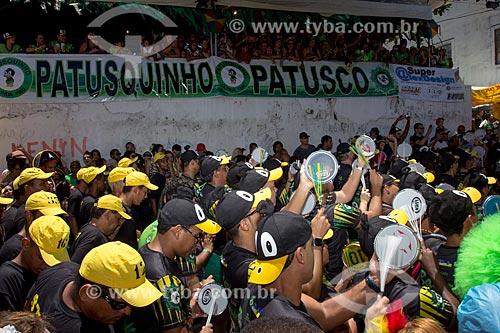 Assunto: Desfile do Bloco Patusco na Rua do Amparo - durante o carnaval / Local: Olinda - Pernambuco (PE) - Brasil / Data: 03/2014