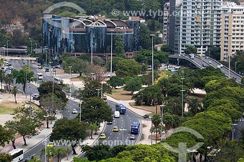 Assunto: Avenida das Nações Unidas com Centro Empresarial Mourisco ao fundo / Local: Botafogo - Rio de Janeiro (RJ) - Brasil / Data: 02/2014