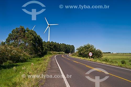 Assunto: Parque Eólico de Osório e Rodovia RS-030 / Local: Osório - Rio Grande do Sul (RS) - Brasil / Data: 03/2012