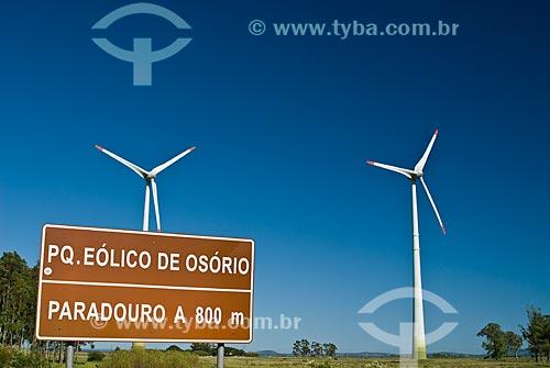 Assunto: Parque Eólico de Osório / Local: Osório - Rio Grande do Sul (RS) - Brasil / Data: 03/2012