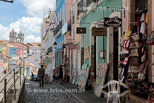 Assunto: Comércio de artesanato e arte popular / Local: Salvador - Bahia (BA) - Brasil / Data: 02/2014