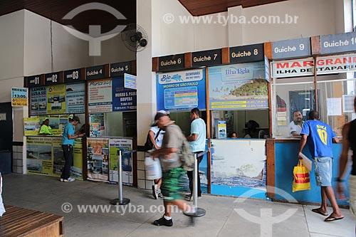 Assunto: Guichês para venda de passagens terrestres e marítimas / Local: Salvador - Bahia (BA) - Brasil / Data: 02/2014