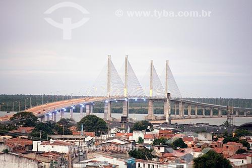 Assunto: Ponte Construtor João Alves (2006) - também conhecida como Ponte Aracaju-Barra dos Coqueiros / Local: Aracaju - Sergipe (SE) - Brasil / Data: 07/2010