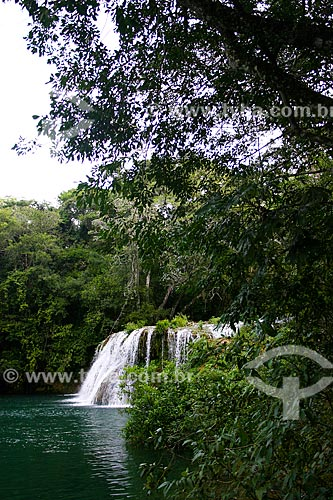 Assunto: Cachoeira do Salto - Estância Mimosa Ecoturismo / Local: Bonito - Mato Grosso do Sul (MS) - Brasil / Data: 04/2008