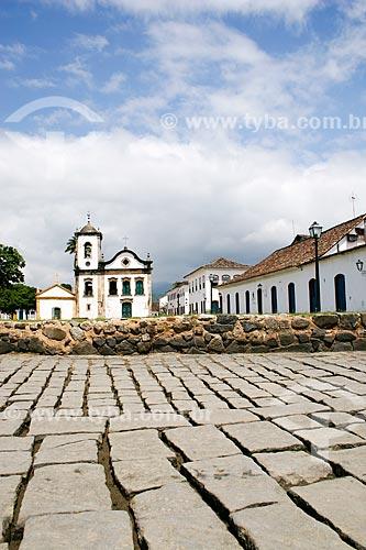 Assunto: Igreja de Santa Rita de Cássia (1722) / Local: Paraty - Rio de Janeiro (RJ) - Brasil / Data: 12/2007
