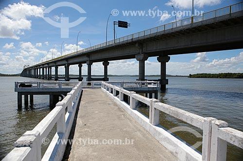 Assunto: Ponte Gilberto Amado sobre o Rio Piauí / Local: Sergipe (SE) - Brasil / Data: 02/2014