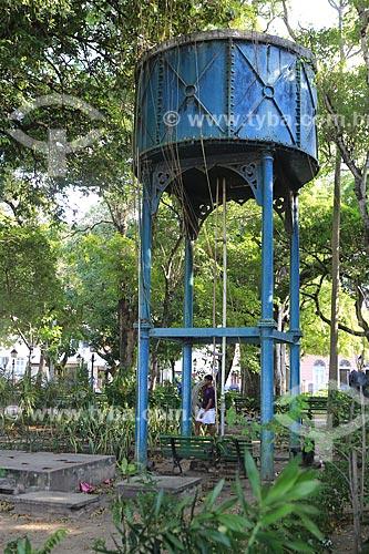 Assunto: Caixa dágua na Praça dos Mártires (Passeio Público) / Local: Fortaleza - Ceará (CE) - Brasil / Data: 03/2014