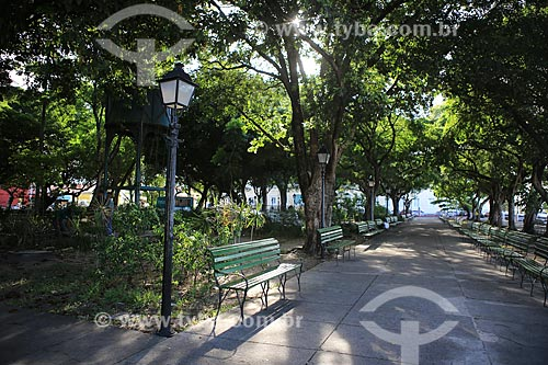 Assunto: Praça dos Mártires (Passeio Público) / Local: Fortaleza - Ceará (CE) - Brasil / Data: 03/2014