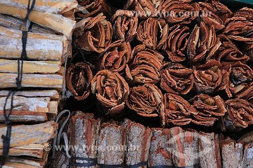 Assunto: Venda de cascas de Aroreira - comércio tradicional / Local: Centro - Fortaleza - Ceará (CE) - Brasil / Data: 03/2014