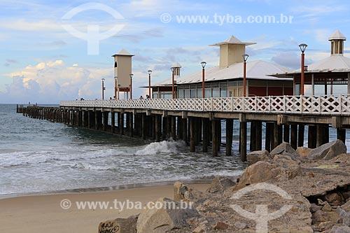 Assunto: Ponte dos Ingleses - também chamada Ponte Metálica / Local: Fortaleza - Ceará (CE) - Brasil / Data: 03/2014