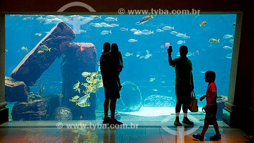 Assunto: Aquário no Atlantis Paradise Island Resort / Local: Ilha Paraíso - Bahamas - América Central / Data: 06/2013