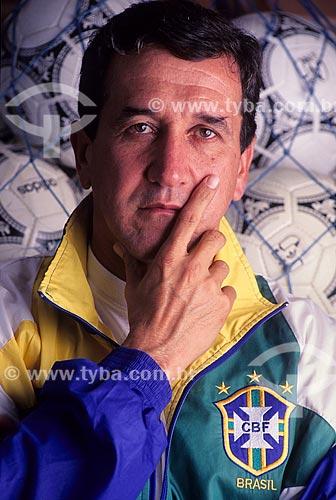 Carlos Alberto Gomes Parreira - treinador  - Brasil