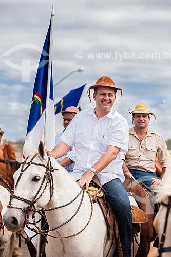 Assunto: Eduardo Campos - Governador de Pernambuco - durante na Missa do Vaqueiro / Local: Serrita - Pernambuco (PE) - Brasil / Data: 07/2011