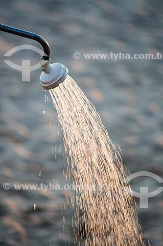 Assunto: Chuveiro na Praia do Arpoador / Local: Ipanema - Rio de Janeiro (RJ) - Brasil / Data: 02/2014