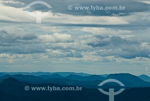 Assunto: Vista a partir do Morro do Dedão no Parque das Sequóias / Local: Canela - Rio Grande do Sul (RS) - Brasil / Data: 02/2014
