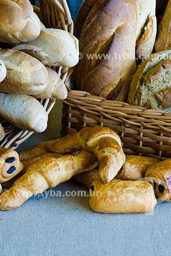 Assunto: Cesta de pães / Local: Canela - Rio Grande do Sul (RS) - Brasil / Data: 02/2014