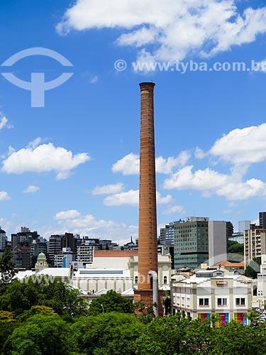 Assunto: Antigo prédio da Cervejaria Brahma (1911), atual Shopping Total / Local: Porto Alegre - Rio Grande do Sul (RS) - Brasil / Data: 12/2013