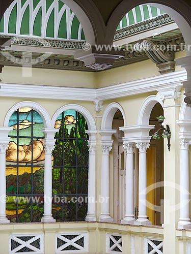 Assunto: Interior do Palácio do Vice-Governador do Estado do Rio Grande do Sul, antigo Palacete Santo Meneghetti / Local: Porto Alegre - Rio Grande do Sul (RS) - Brasil / Data: 12/2013