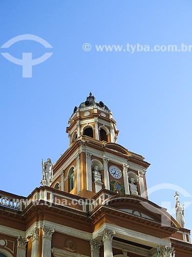 Assunto: Fachada do Paço Municipal de Porto Alegre (1901) / Local: Porto Alegre - Rio Grande do Sul (RS) - Brasil / Data: 03/2014