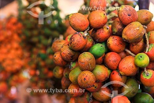 Assunto: Pupunha no Mercado Ver-o-peso / Local: Belém - Pará (PA) - Brasil / Data: 03/2014