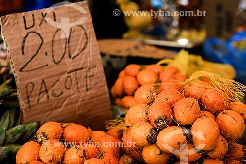 Assunto: Fruto do uxi no Mercado Ver-o-peso / Local: Belém - Pará (PA) - Brasil / Data: 03/2014