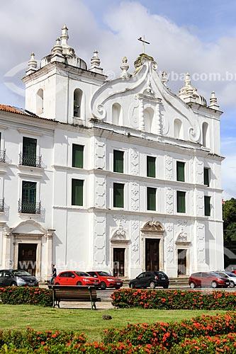 Assunto: Praça Dom Frei Caetano Brandão e a Igreja de Santo Alexandre ao fundo / Local: Belém - Pará (PA) - Brasil / Data: 03/2014